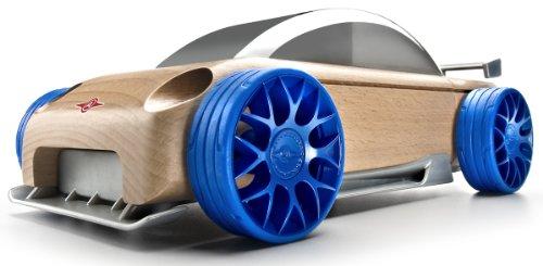 Automoblox S9-R Sport Sedan, Silver/Blue