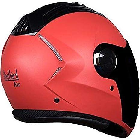 Steelbird Multi Color Choice Air SBA-2 Full Face Motorbike Helmet 1 Extra Visor