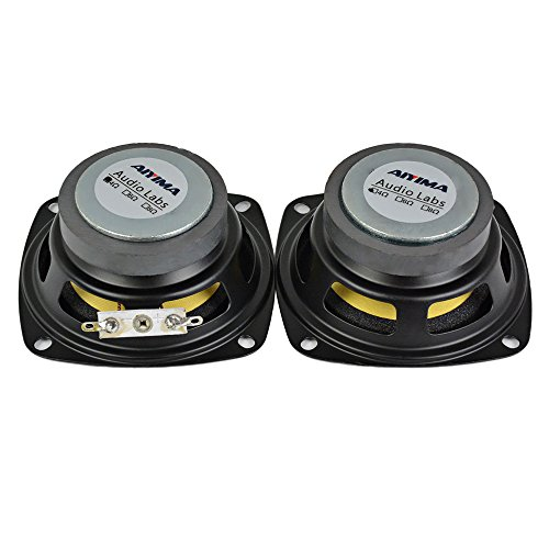 AIYIMA 2Pcs 3Inch Audio Portable Speakers Full Range 4Ohm 10W Speaker Magnetic Multimedia Loudspeaker DIY HIFI Home Theater by AIYIMA (Image #3)