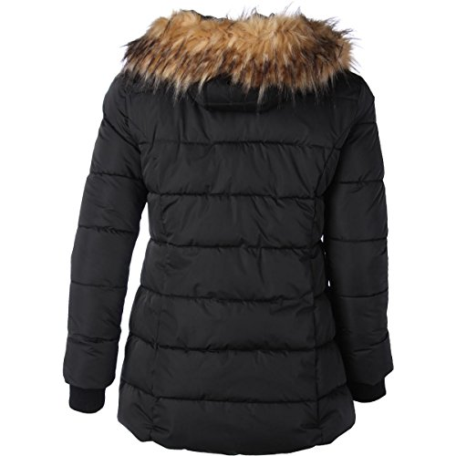 GUESS Womens Quilted Parka Coat Black XL by GUESS (Image #1)
