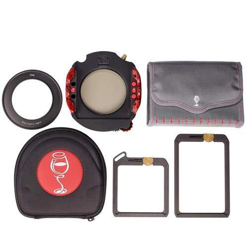 ワインカントリーカメラ100 mmフィルタホルダーキット、Includes 100 mmホルダーシステム、100 x 100 mm NDフィルタVault、100 x 150 mm Grad Filter Vault、Circular Polarizer、52 mmアダプターリング   B01MSAK090