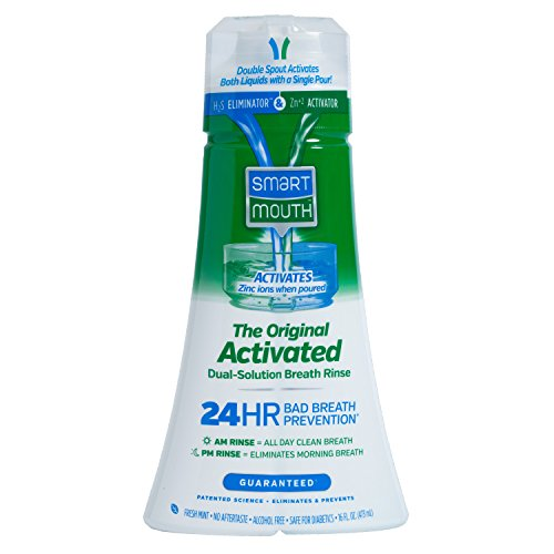 SmartMouth Original Mouthwash, Mint, 16 Fluid Ounce (Pack of 9)