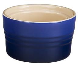 Le Creuset Stoneware 7-Ounce Stackable Ramekin, Cobalt