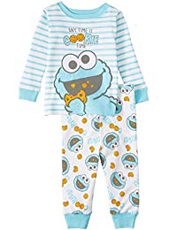 Cookie Monster Baby Boys 2 Piece Sleepwear Pajama Set