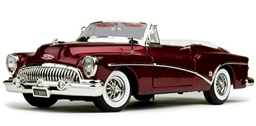 1953 Buick Skylark Convertible, Red - Motor Max 73129 - 1/18 Scale Diecast Model Toy Car by Motor Max from Motor Max
