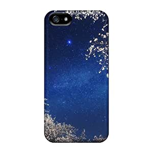 Iphone High Quality Tpu Case/ Nature Other The Milky Way UdwJVzX4981GbfaA Case Cover For Iphone 5/5s