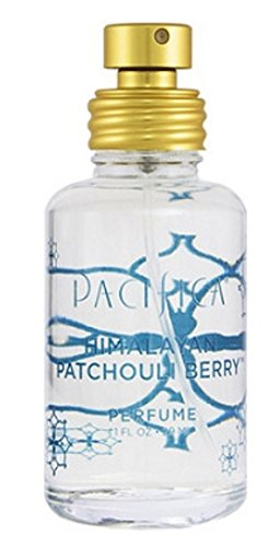 PACIFICA Himalayan Patchouli Berry Spray Perfume 1oz, pack of 1 (Pacifica Indian Coconut Nectar Perfume Roll On)