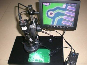 Gowe Digital Industrial Inspection Zoom Video Microscope LCD