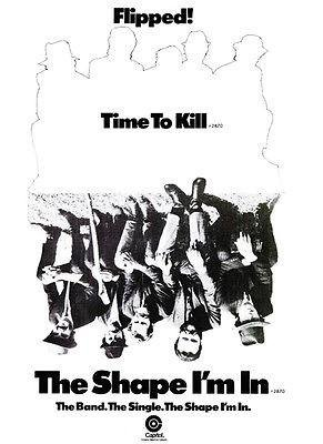 - The Band - The Shape I'm in - Time to Kill - 1970 - Single Release Promo Poster