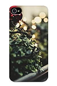 15137692301 Tpu Phone Case With Fashionable Look For Iphone 4/4s - Holidays Christmas Seasonal Case For Christmas Day's Gift