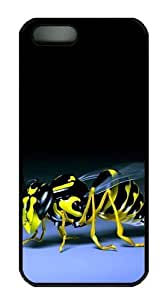 3D bee iphone 5S covers PC Black for Apple iPhone 5/5S