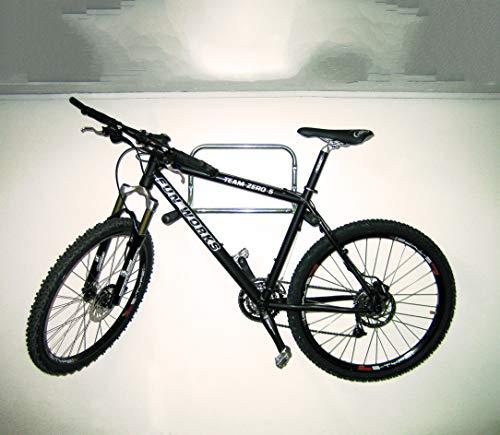 Soporte para bicicletas GAH-Alberts 802332 acero inoxidable, 530 x 330 x 510 mm de grosor