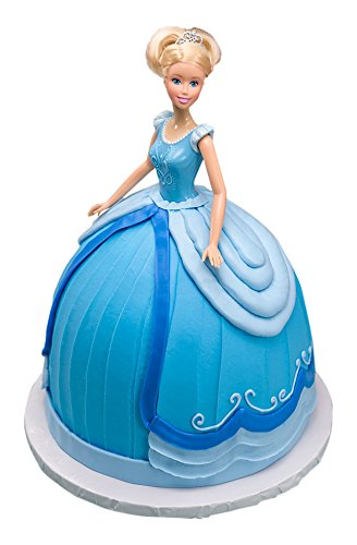 (DecoPac Disney Princess Doll Signature Cake DecoSet Cake Topper, Cinderella, 11