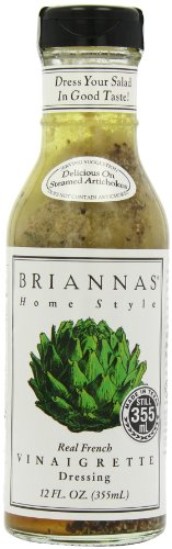 Briannas Home Style Dressings Real French Vinaigrette -- 12 fl oz (Pack of 1)