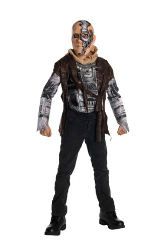 Terminator Salvation Movie Child's Costume Deluxe T600, Large