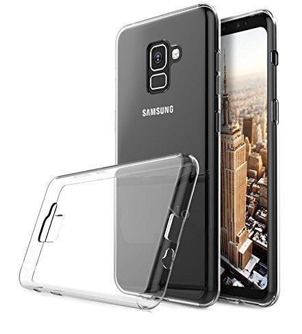 huge selection of 57f58 c03a5 SmartLike Samsung Galaxy A8+ Back Cover Transparent Clear Crystal Hot Thin  Hard Case - Crystal View