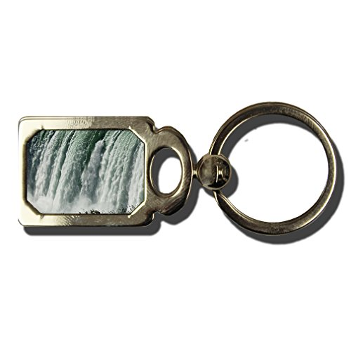 Niagara Falls One Side Framed Metal Key Chain from Style in Print