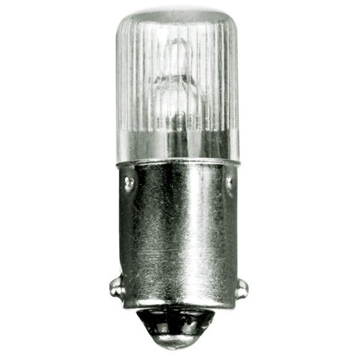 Base Eiko Mini (Eiko 40016 - B1A Mini Indicator Lamp - 100 Volt - 0.3 mA - T3 Bulb - Miniature Bayonet Base - 10 Pack)