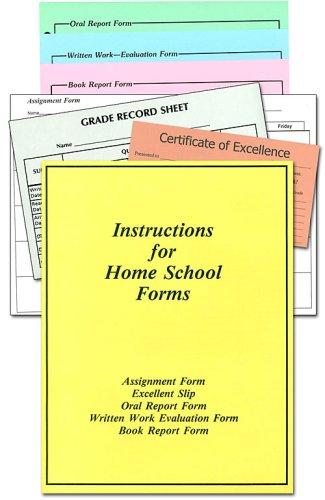 Homeschool Forms, pk
