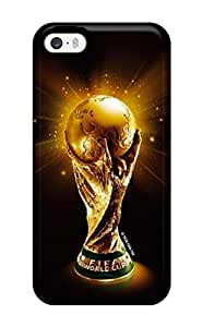 Iphone 5/5s Case Cover - Slim Fit Tpu Perfect Protector Shock Absorbent Case (fifa Cup)