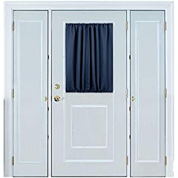 Amazon.com: Deconovo Thermal Insulated Curtains French Door Panel Curtains Blackout Drapes 54