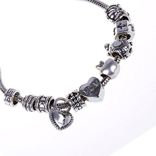 mixed bead bra - 3