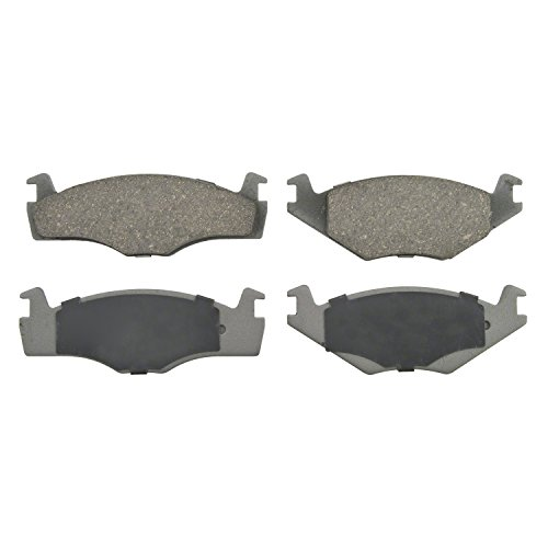 Wagner ThermoQuiet PD280 Ceramic Disc Pad Set, Front