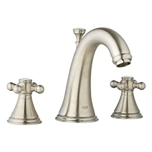 bathroom sink faucets amazon grohe k20801 18733 ene geneva lavatory cross faucet kit 16499