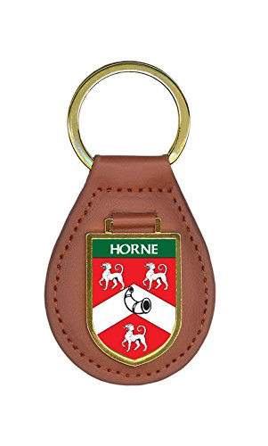 Horne Family Crest Coat of Arms 10 Total Key Chains