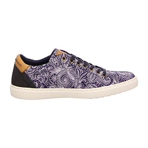 BULLBOXER 779K25245ET166 - Zapatos de cordones para hombre Azul - t166