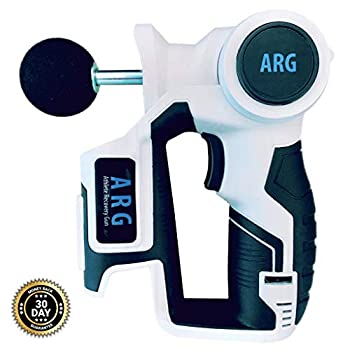 Image of ARG Massage Gun - Athletic Deep Tissue Massager for Muscle Recovery … (White) Health and Household