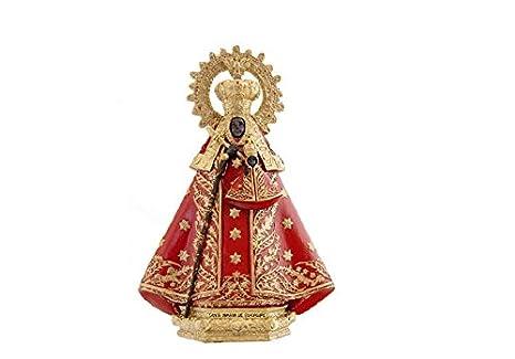 c7305d40b72 DRW Figura Virgen de Guadalupe de Resina de 19 cm con Caja de Regalo con la  Historia de la Virgen  Amazon.es  Hogar