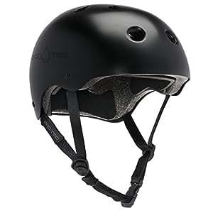 PROTEC Original Classic Helmet CPSC-Certified, Satin Black, Medium