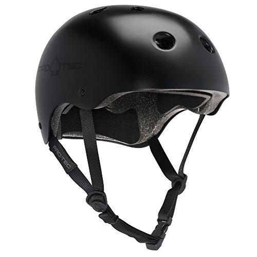 PROTEC Original Classic Helmet CPSC-Certified, Satin Black, Small by PROTEC Original