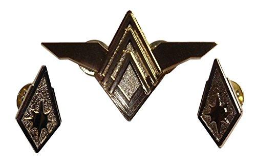 (Main Street 24/7 Battlestar Galactica Senior Officers Rank Pin Metal)