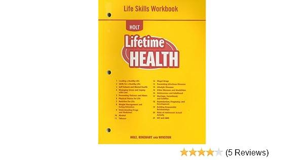 Lifetime health life skills workbook rinehart and winston holt lifetime health life skills workbook rinehart and winston holt 9780030787393 amazon books fandeluxe Image collections