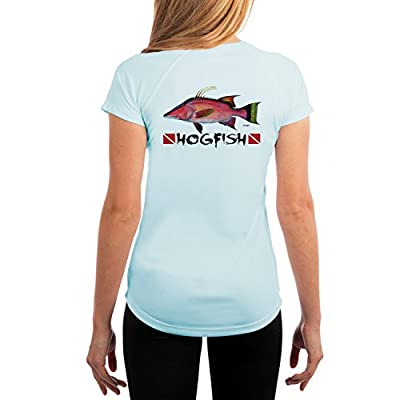 KEVIN BRANT Hogfish Women's UPF 50+ Performance T-shirt