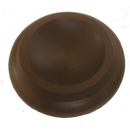 [Hardwood Piano Caster Cups, Set of 3 - Walnut] (Itm Cup)