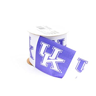 Offray NCAA Kentucky Wildcats Ribbon, 2-1/2 inches
