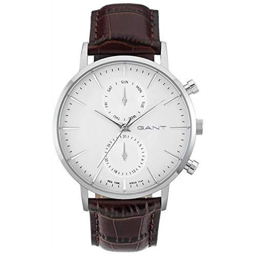 GANT Reloj analógico para Hombre de Cuarzo con Correa en Piel W11201