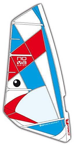 BIC Sport Nova Complete Windsurfing Rig, Red/White/Blue, 3.5 by BIC Sport