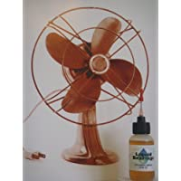 Liquid Bearings, SUPERIOR 100%-synthetic oil for Box fans, ceiling fans, table fans, portable fans, to keep any indoor or outdoor fans operating smoothly and reliably!!