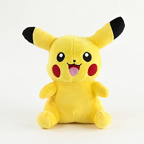 Stuffed Pikachu - Plush Animal Pokemon That's Suitable For Babies and Children - Perfect Birthday Gifts - Toy Doll for Baby, Kids and Toddlers - (Pokemon Stuffed Animals For Sale)