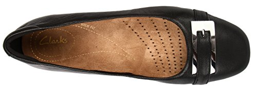 Clarks Strap Black Black Leather Women's Candra Glare Ankle UqTxnwUO7r
