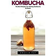 Kombucha: The Best Recipes For Making Kombucha At Home! (Kombucha Recipes, How to Make Kombucha, Fermented Drinks)