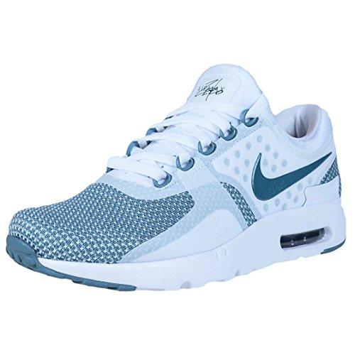 Nike Air Max A Zero Mens Essenziali Scarpe Da Corsa Blu Smokey, Smokey Blu - Bianco
