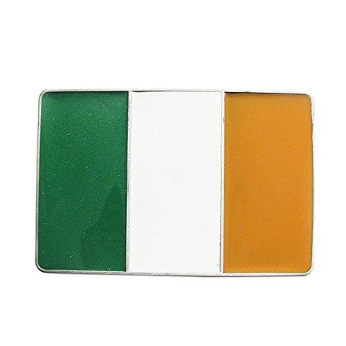 New Vintage Irish Flag Rectangle Belt Buckle Gurtelschnalle Boucle de - Belt Irish