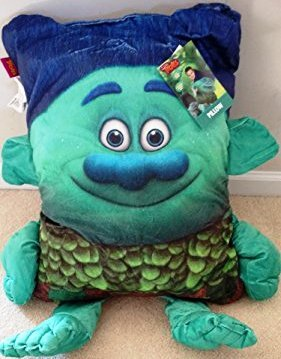 Amazoncom Trolls Branch Extra Large Throw Pillow with Realistic