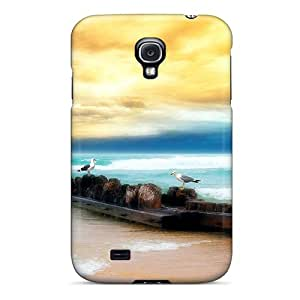 Case Cover Seagull Fun Hdr/ Fashionable Case For Galaxy S4