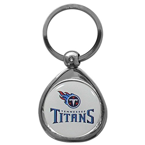 (Siskiyou NFL Tennessee Titans Key Chain, Metal/Chrome)